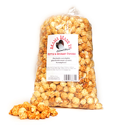 Caramel Glazed Kettle Corn